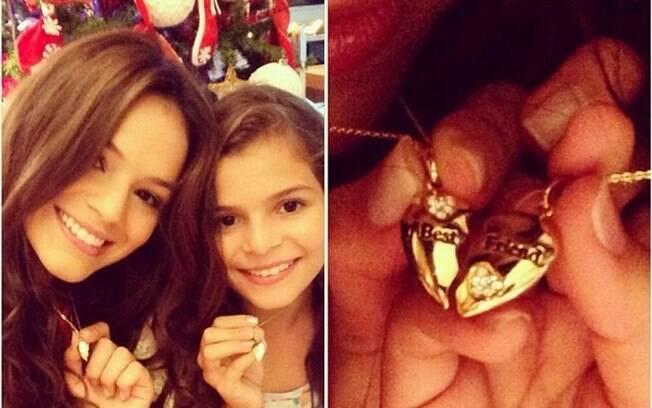 Na Globo, teremos a estreia da irmã de Bruna Marquezine, Luana. Aos 11 anos, ela viverá a personagem de Antonelli na infância em 'Em Familia', próxima novela das 21h