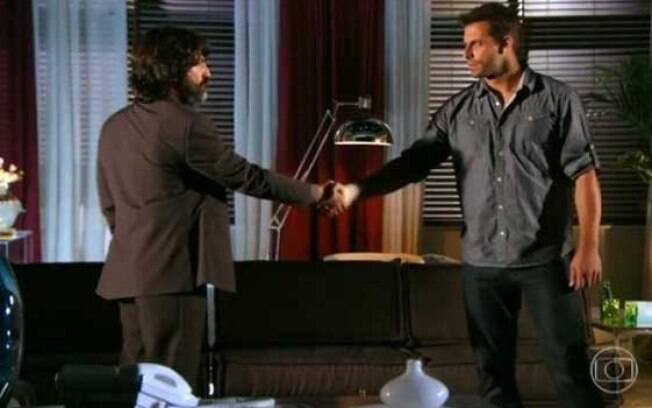 Cassiano e Dom Rafael se reencontram em