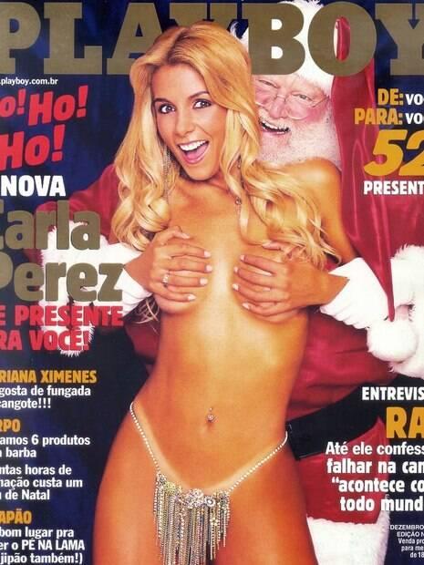 Papai Noel da Playboy morre aos 91 anos de idade devido a uma pneumonia