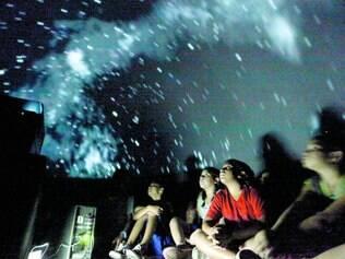 Atração.  Intenção da Prefeitura de Lagoa Santa é levar atração, constituída por domo inflável, às 23 escolas da rede pública da cidade