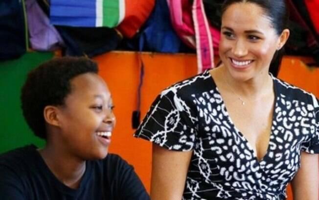 Duquesa fez discurso emocionante na África do Sul