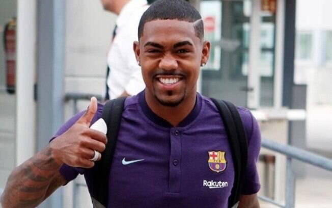 Malcom chegou ao Barcelona para a disputa da temporada 2018/19.