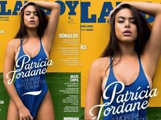 Patrícia Jordane é a capa do mês de junho
