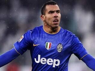 Tevez é o artilheiro do Campeonato Italiano, com oito gols marcados