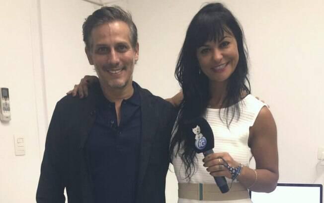 Especialista em prótese e estética dental, Dr. Bruno Puglisi conversou com a apresentadora da TV iG, Maria João