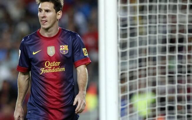 Foi a primeira vez no campeonato que Messi  não balançou as redes