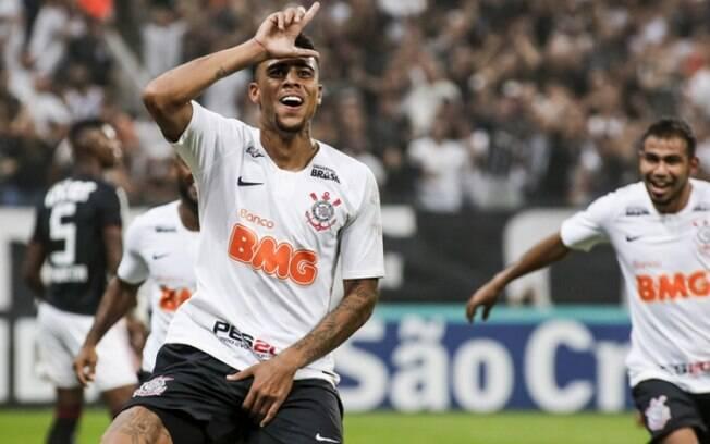 Gustagol, artilheiro do Corinthians em 2019