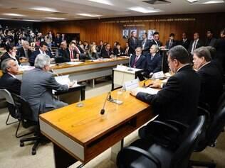 Acareação entre dois ex-diretores da Petrobras Paulo Roberto Costa e Nestor Cerveró
