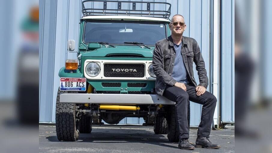 Toyota FJ Cruiser de Tom Hanks também será leiloado juntamente ao trailer Airstream