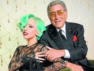 Livre para voar. Lady Gaga credita a Tony Bennett o incentivo para libertar-se das amarras do pop