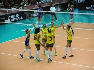 Com resultado, equipe brasileira chegou a seis pontos na competição internacional
