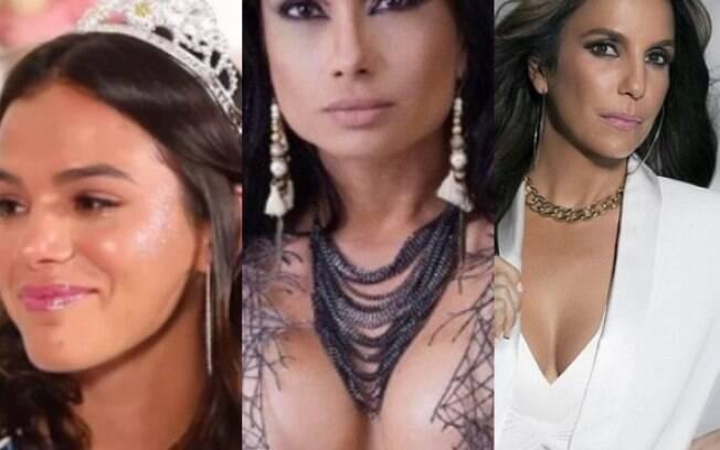 As famosas que ficarão de fora do carnaval em 2018