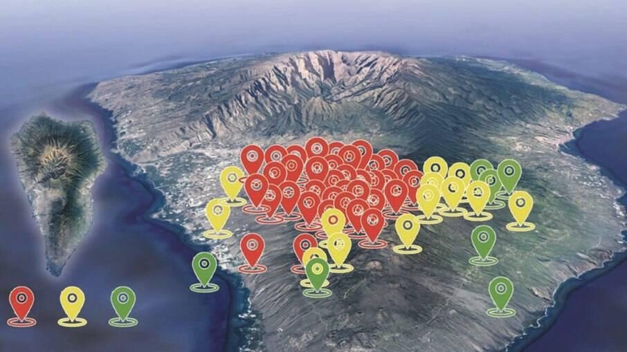 vulcão capaz de gerar tsunami no Brasil