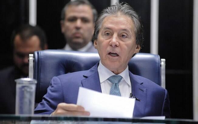 Presidente do Senado, Eunício Oliveira colocou na pauta do dia votação sobre reajuste dos ministros do STF e do PGR