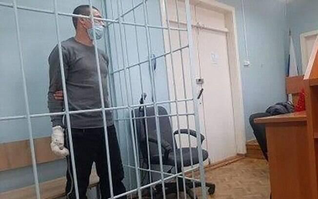 Oskana Poludentseva foi preso na Rússia