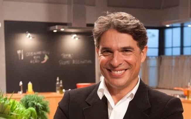 Olivier Anquier é chef de cozinha, empresário e apresentador é criou uma série de restaurantes no país