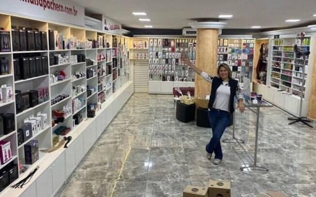 O sex shop de Maisa fica na rua da Consolação, 2504