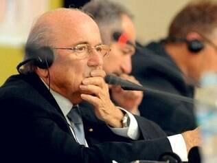Presidente da Fifa não quer mais saber de simulações dentro de campo