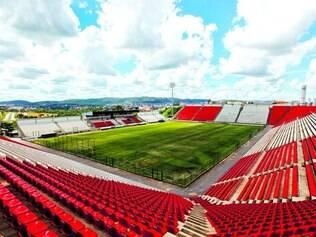 Vazia. A Arena do Jacaré, casa do Minas Boca de Sete Lagoas, foi o estádio que recebeu o menor número de torcedores no Mineiro deste ano
