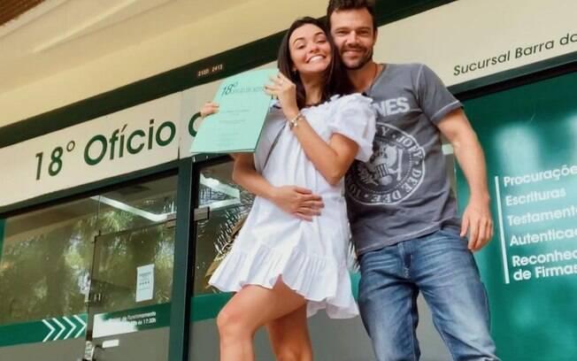 Thalita Younan e João, filho de Regina Duarte