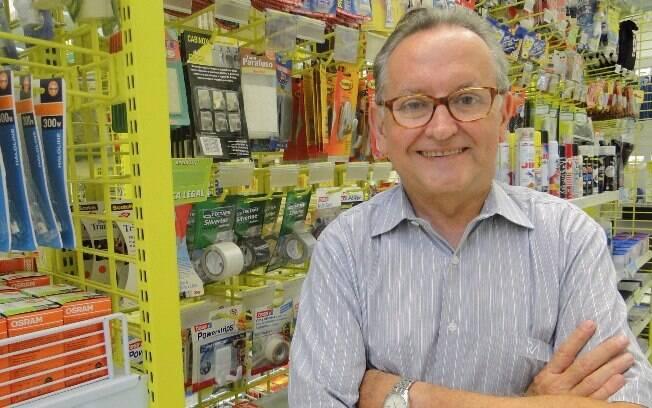 O empreendedor Lindolfo Martin valoriza o atendimento ao cliente como um dos maiores diferenciais da Multicoisas