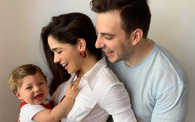 Sabrina Petraglia está grávida do segundo filho
