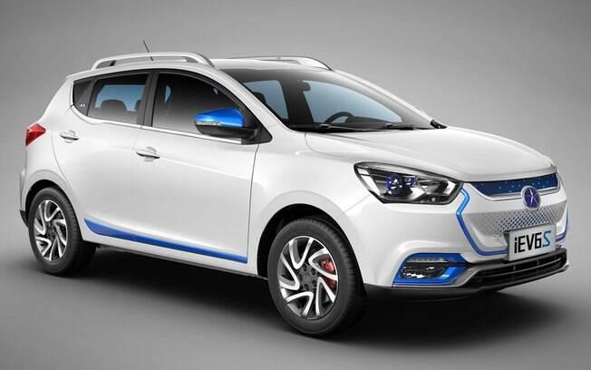 O modelo elétrico E40 será o próximo lançamento da marca chinesa no Brasil depois do JAC  T80
