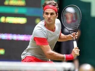 O resultado fez Federer chegar a sua 45ª vitória no torneio disputado na grama em 50 partidas