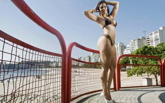 """Raíssa Machado: """"Meu bumbum chama muita atenção, eu sei"""