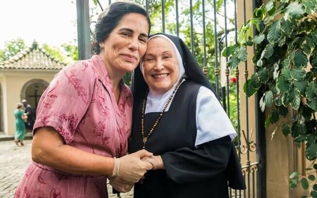 Nicette Bruno foi Madre Joana em 'Éramos Seis', de 2020