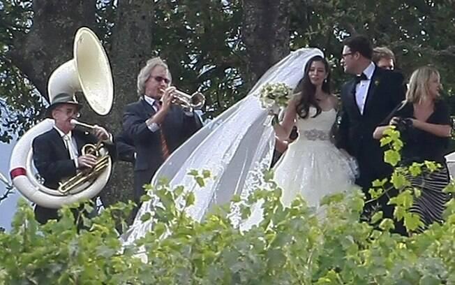 Seth Rogen em seu casamento