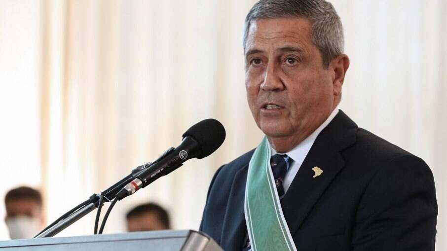 Braga Netto, ministro da Defesa