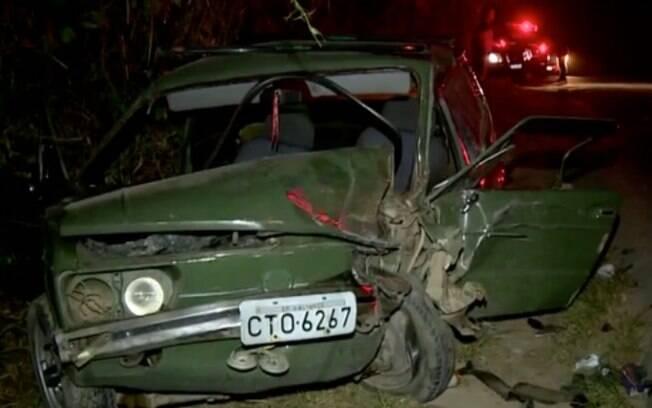 Acidente entre dois carros deixa cinco pessoas feridas em Valinhos