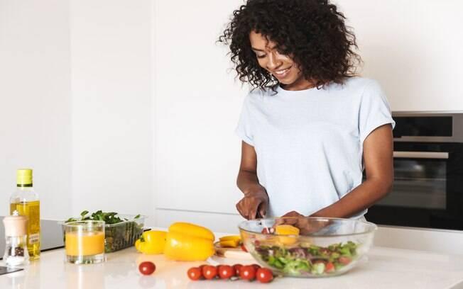 Controle a ansiedade com uma alimentação correta