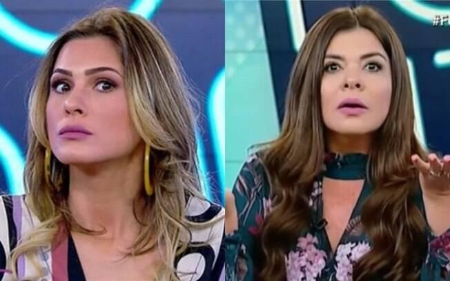 Livia Andrade e Mara Maravilha