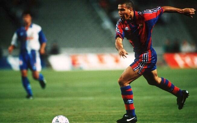 O brasileiro Ronaldo foi eleito o melhor do  mundo em 1996