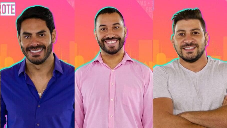 Gilberto enfrenta Caio e Rodolffo no paredão