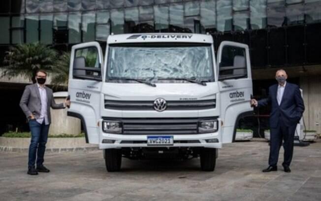 Volkswagen Caminhões e Ônibus entrega primeiro e-Delivery da Ambev