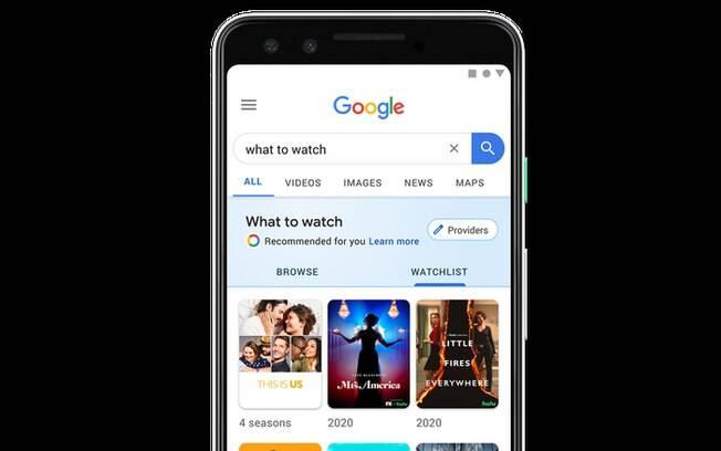 Google lança ferramenta para indicar filmes e séries
