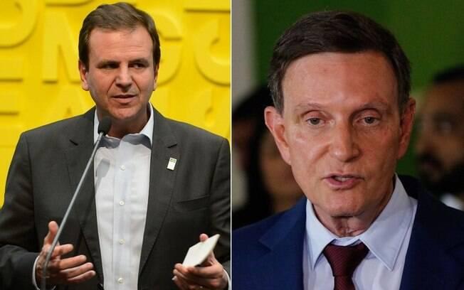 Eduardo Paes (DEM) e Crivella (Republicano) disputarão o segundo turno no Rio de Janeiro (RJ)
