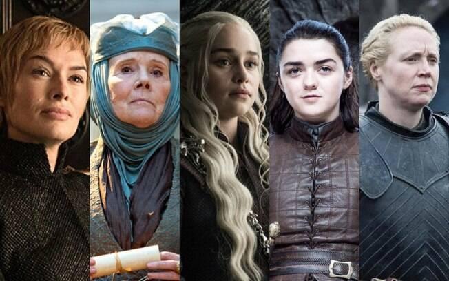 Cersei, Olenna, Daenerys, Arya, Brienne e tantas outras mulheres mostraram a força feminina em Game of Thrones