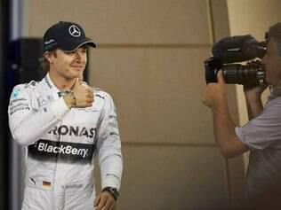 Rosberg é o líder do Mundial com 43 pontos, 18 à frente de seu companheiro de equipe, Lewis Hamilton