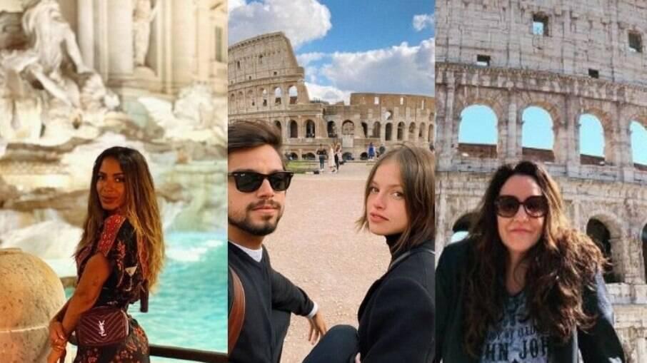 Famosos em Roma