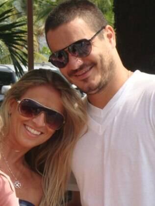 Camila Pastorini e Rafael: briga pública com a família do ex