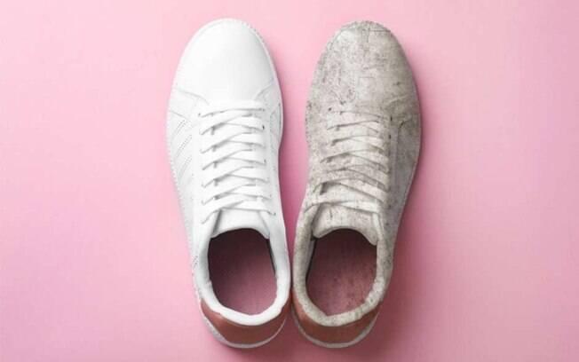 Saber como limpar sapatos vai ficar mais fácil com essas dicas