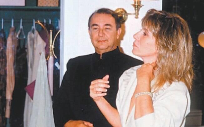 Eugênio (Sérgio Mamberti), mordomo de Heleninha (Renata Sorrah) em
