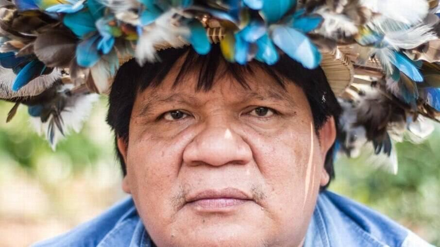 Almir Suruí, índio em Rondônia