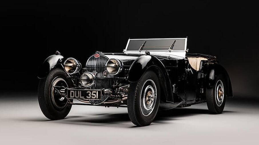 Bugatti Type 57S 1937: clássico foi o modelo mais veloz e exclusivo que o dinheiro podia comprar
