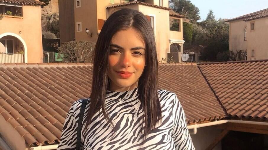 Giullia Miranda, filha de Gretchen