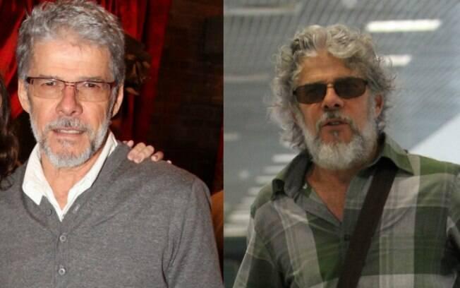 José Mayer: antes e depois